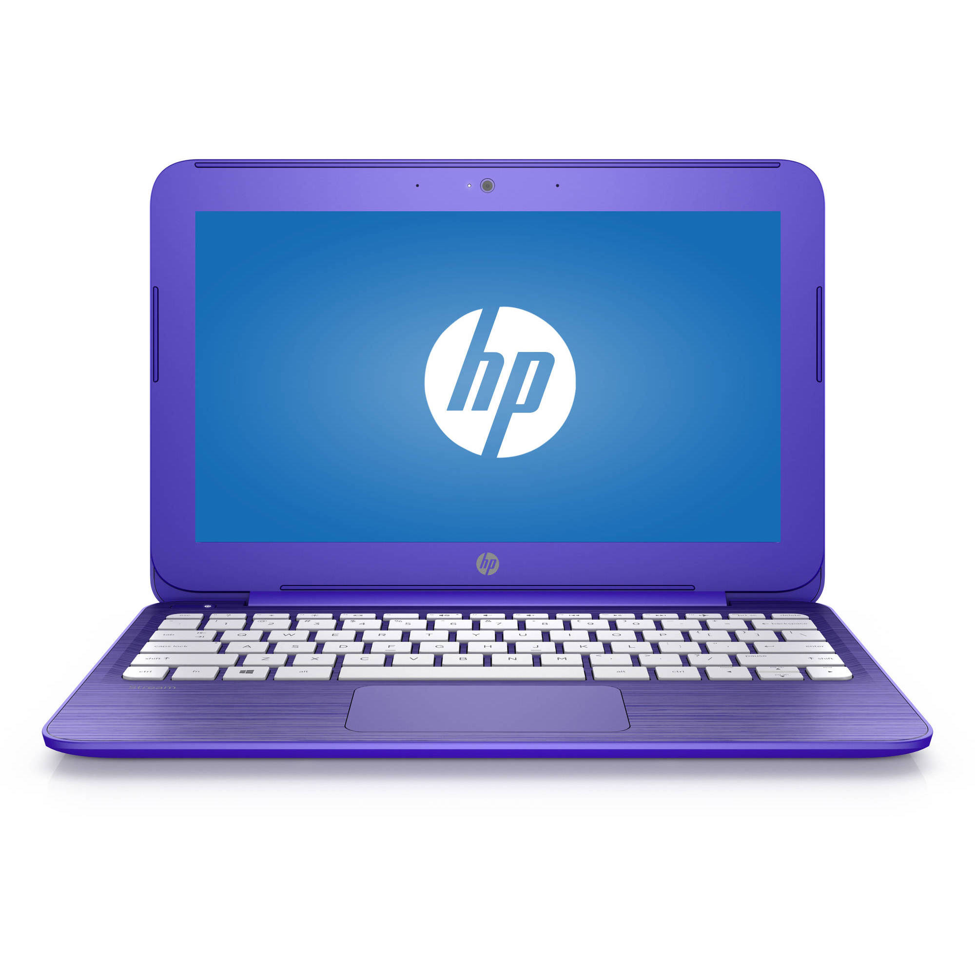 "Refurbished HP 11"" Stream Laptop PC with Intel Celeron N3050 Dual-Core Processor, 2GB Memory, 32GB Hard Drive and Windows 10 Home and Office 365 Personal 1-year subscription included"