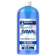 Dawn Ultra Platinum Dishwashing Foam, Fresh Rapids Scent, 30.9 Fl Oz