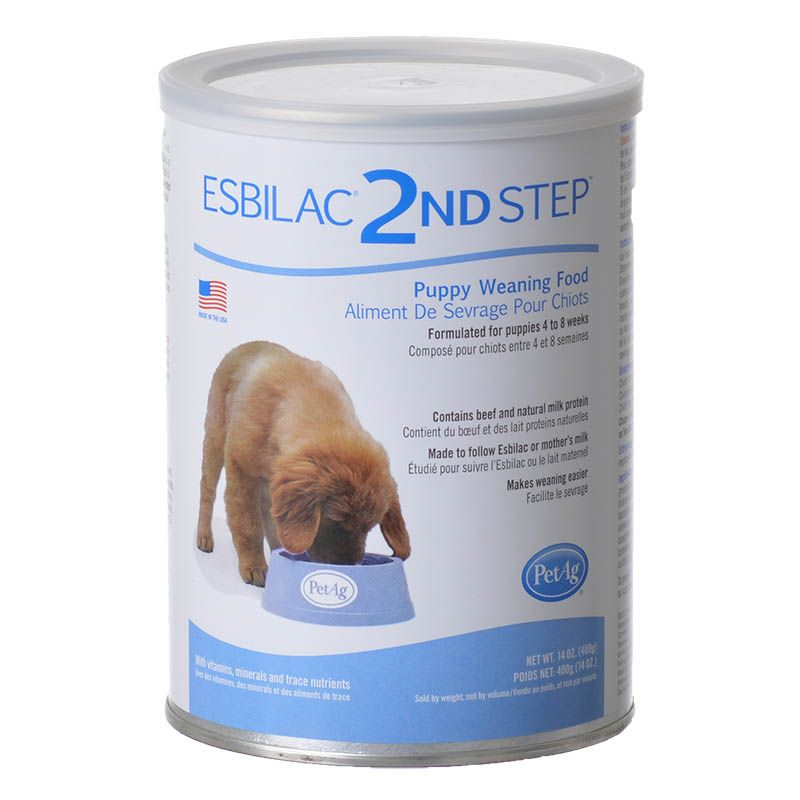 PetAg Weaning Formula for Puppies 1 lb - Pack of 4
