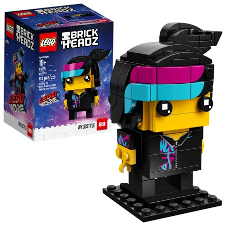 THE LEGO MOVIE 2 BrickHeadz Wyldstyle 41635 – Walmart.com Exclusive