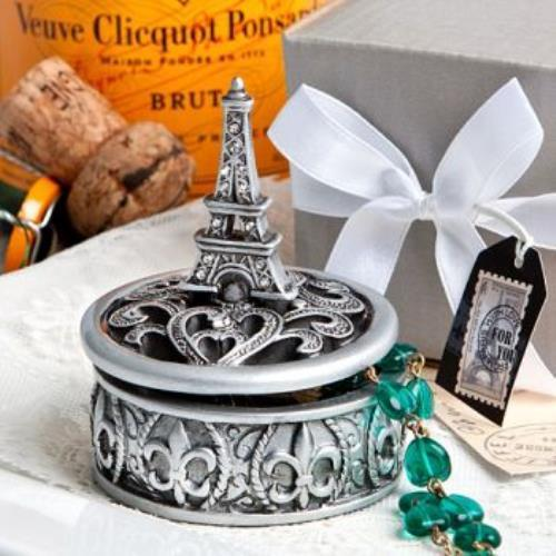 FashionCraft Eiffel Tower design curio box favors  pack o...