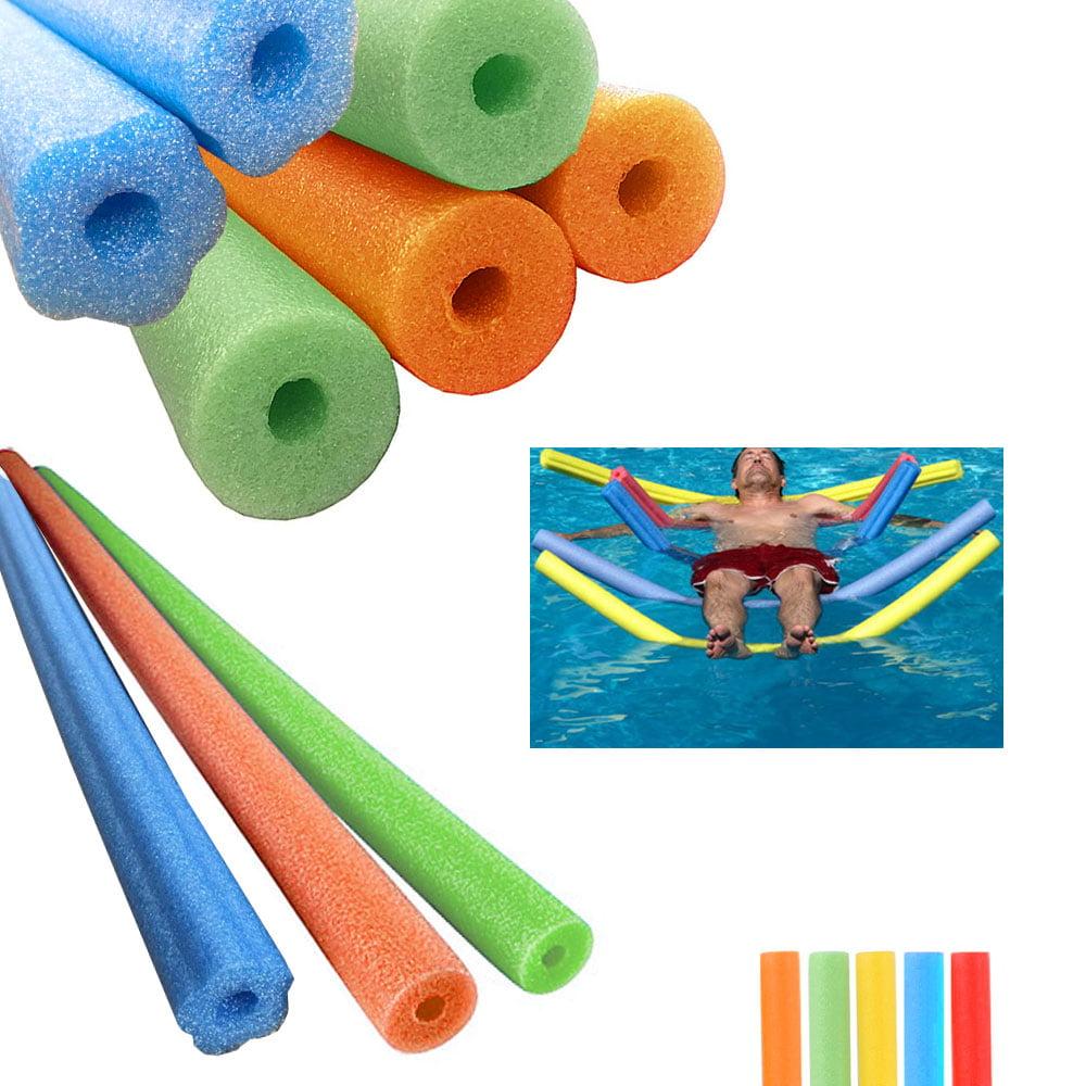18-Pack Super Swim Noodles 5 Colors Pool Toys Kids Swim Training Aid Boys Girls
