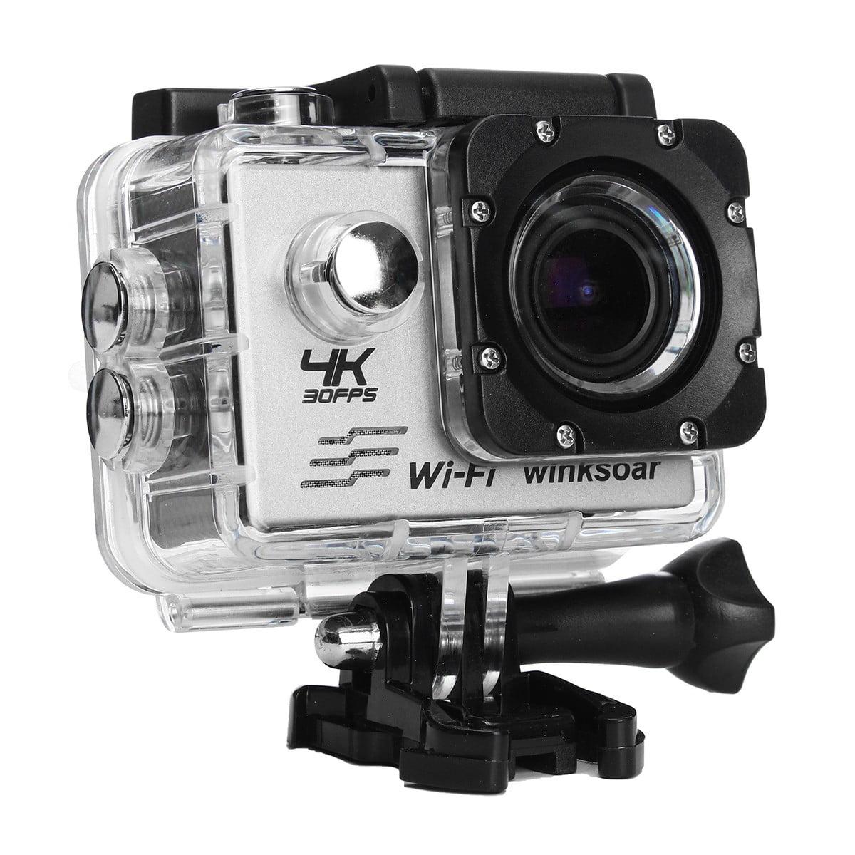 Winksoar SJ9000 Sports Action Camera WiFi HD 4K 1080P 16MP 120° Wide-angle Mini DV Recorder DV Camcorder Waterproof New Year Christmas Gifts Kids