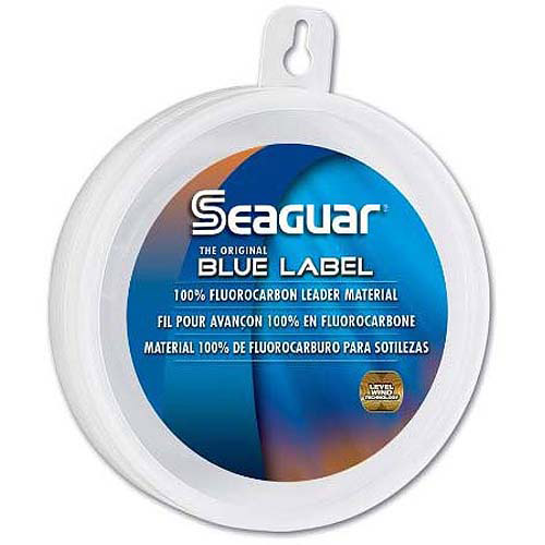 Seaguar Blue Label 100 Percent Fluorocarbon Leader, 25 yds, 25 lb