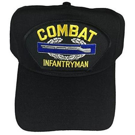 US ARMY COMBAT INFANTRYMAN BADGE CIB HAT CAP RIFLE OAK LEAF - Army Cap Badges