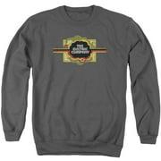 Electric Company Logo Mens Crew Neck Sweatshirt