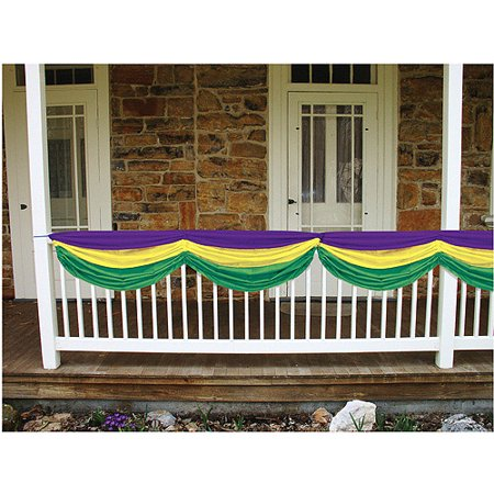Mardi Gras Fabric Bunting - Mardi Gras Accessories