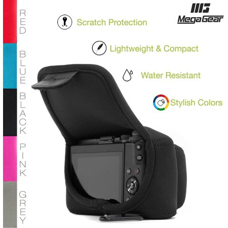 MegaGear MG510 Olympus PEN E-PL9, E-PL8, E-PL7 Ultra Light Neoprene Camera Case - Black - image 2 de 5