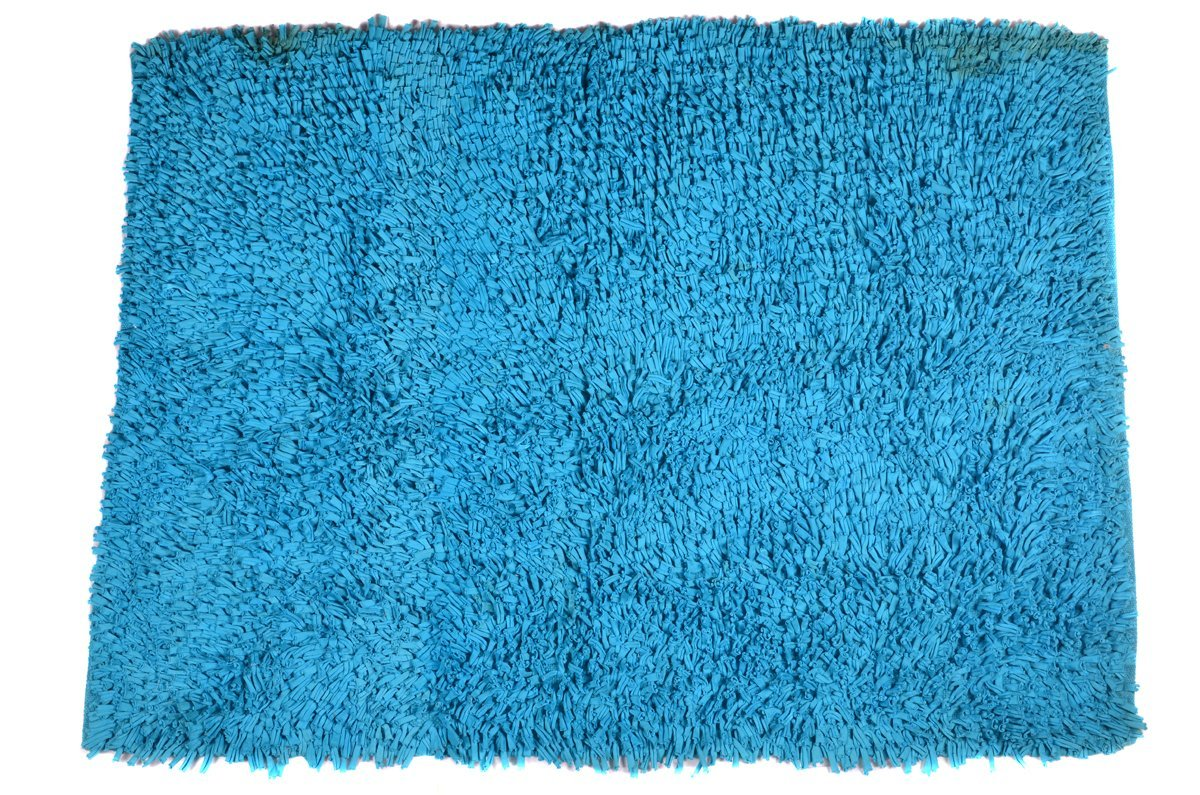 Shaggy Area Rugs 2x3 ft Turquoise Blue Shag Soft Carpet (22''x 33'') Doormat Living Room... by Doormats
