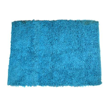 Shaggy Area Rugs 2x3 Ft Turquoise Blue Shag Soft Carpet