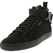 Puma Men's Suede Classic Mid Buckle Black / High-Top Sneaker - 8.5M