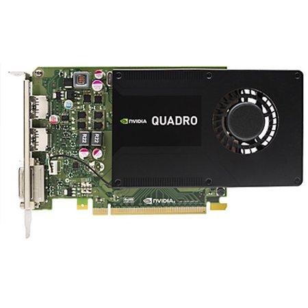NVIDIA Quadro K2200 - Graphics card HP Quadro K2200 Graphic Card - 4 GB GDDR5 - PCI Express 2.0 x16 - 128 bit Bus Width - 4096 x 2160 - DirectX 11.1, OpenGL 4.4, DirectCompute, OpenCL - 2 x ()