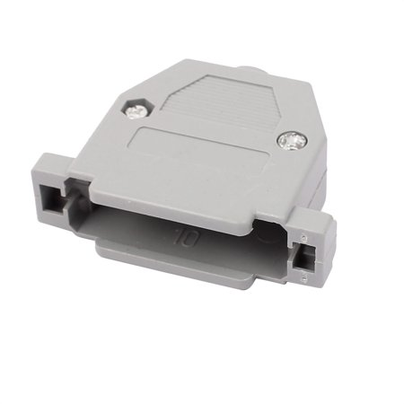 D-sub Connector Housing - DB25 Serial Port D-Sub Connector Kit Cover Housing Assembly Shell Plastic Hood