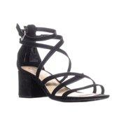Womens MG35 Minez1 Block Heel Strappy Sandals, Black