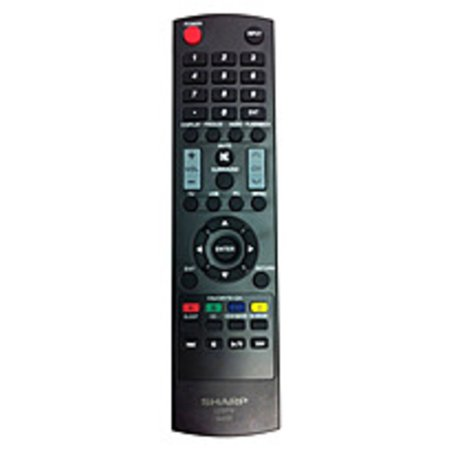 Sharp gj221 remote control for lc 32d59u lcd tv 2 x aaa not