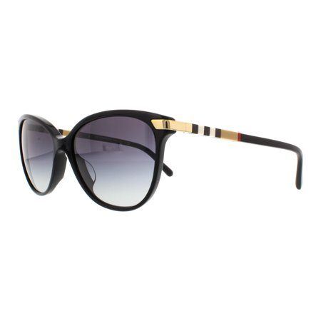 BURBERRY Sunglasses BE4216F 30018G Black 57MM ()