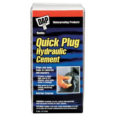 DAP 14086 5 lb Quick Plug Hydraulic & Anchoring Cement 10 Lb Anchoring Cement