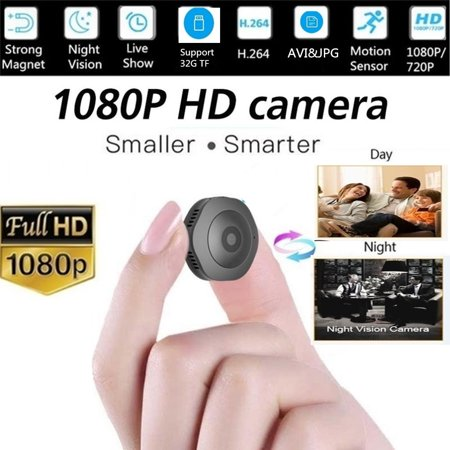 2019 Newest HD 1080p Wireless Mini Security Camera IR Night Vision