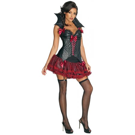 Midnight Vampira Adult Costume - - Costumi Per Halloween Vampira
