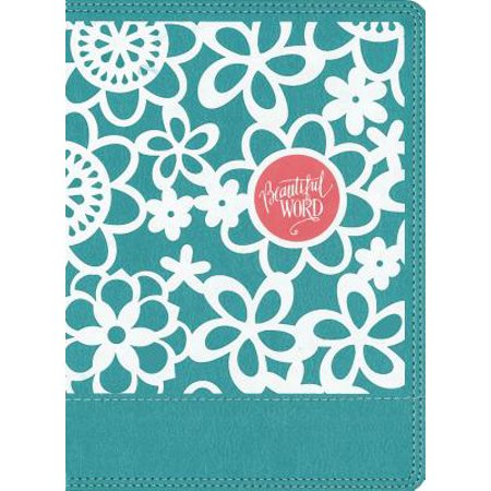 NIV Beautiful Word Coloring Bible for Girls, Leathersoft Over Board, Teal : Hundreds of Verses to Color - Hunting Bible Verses