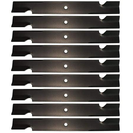 0.5 Inch Mower Blade - USA Mower Blades 9 for Bad Boy 038-6050-00, 038-2007-00, 038-6060-00, 60