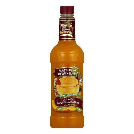 Master of Mixes Mango Margarita & Daiquiri Mix, 33.8 OZ (Pack of 6) (Mango Margarita Recipe)