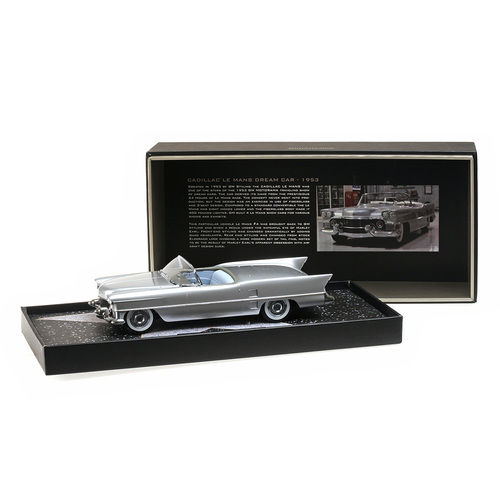 1953 Cadillac Le Mans Dream Car Silver Limited to 999pc 1/18 Model Car by Minichamps