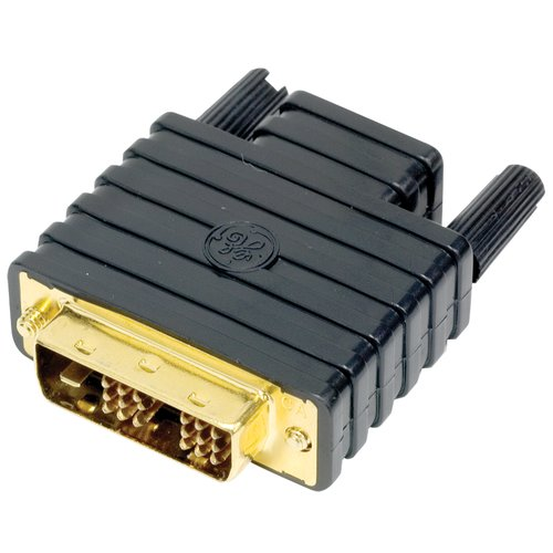 DVI Female to HDMI Male Connection GE 22701 DVI to HDMI Adapter