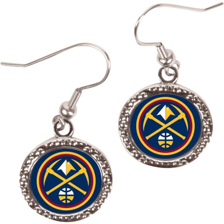 Denver Nuggets WinCraft Women's Round Dangle Earrings - No -