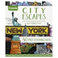 Crayola Art With Edge Coloring Book City Escapes