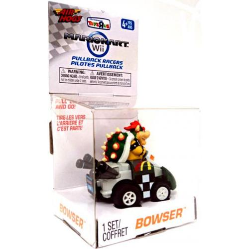 Super Mario Air Hogs Pullback Racers Bowser Go-Kart