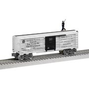 Lionel O Scale Trains Tomb of the Unknown Soldier Walking Breakman Electric Powered Model Train Rolling Stock