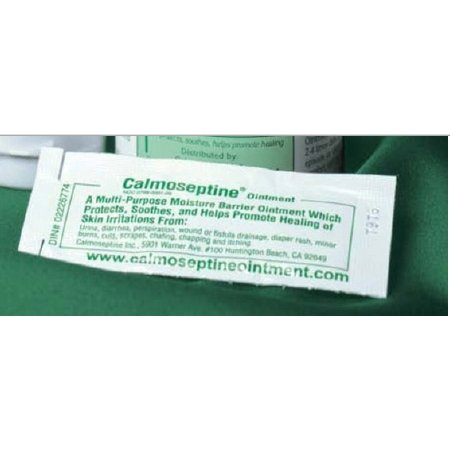 Calmoseptine Skin Protectant Ointment 0.125 oz., Individual Packets, Scented, Case of 144
