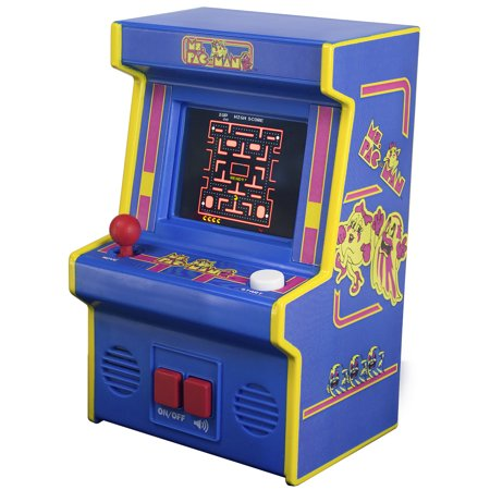 Arcade Classics - Ms Pac-Man Mini Arcade Game (Best Old Arcade Games)