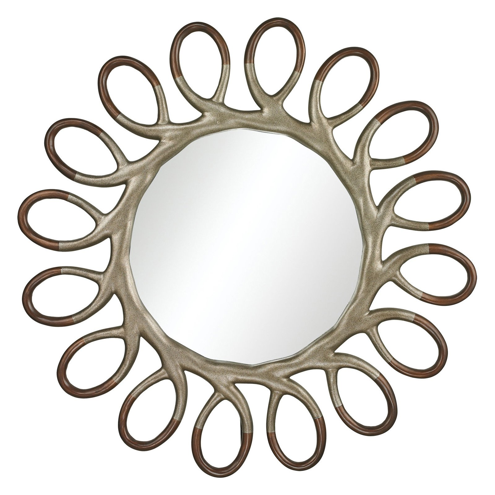 Sterling Clement Wall Mirror - 46 diam. in.