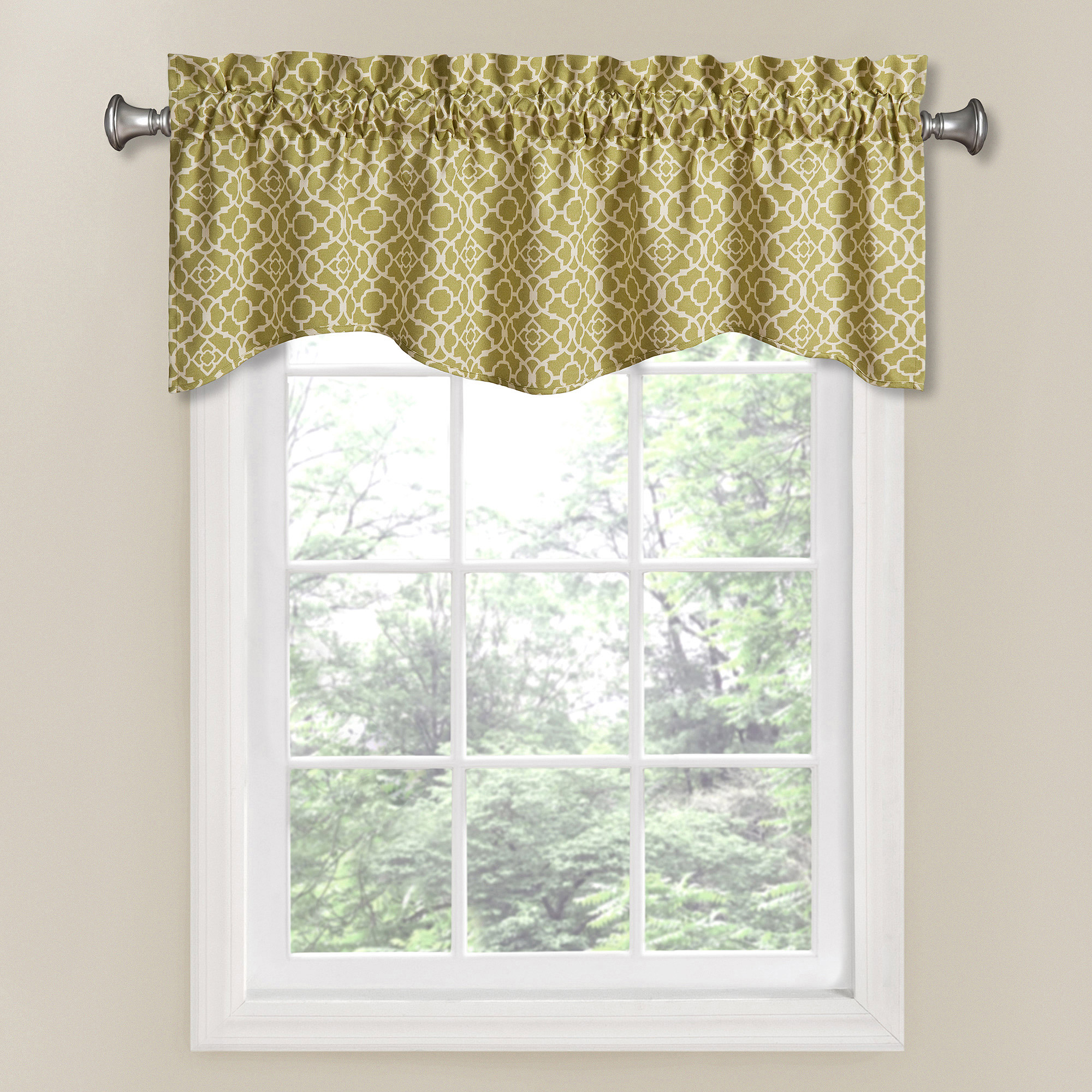 Waverly Lovely Lattice Window Valance