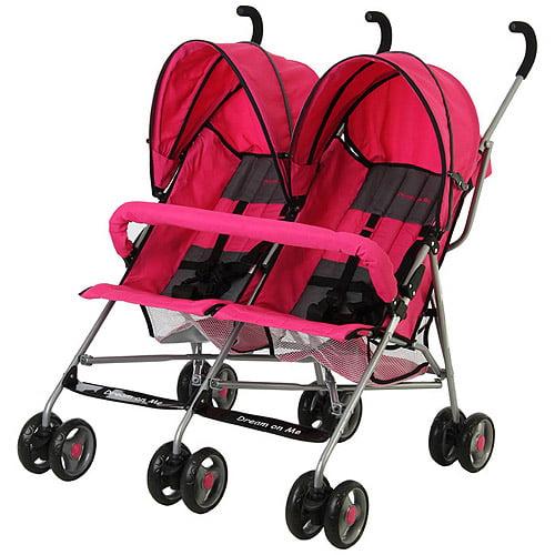 Dream On Me Double Twin Stroller