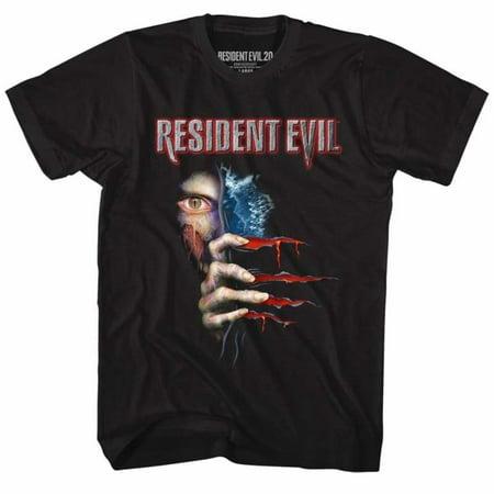 - Resident Evil Gaming Peekin' Adult Short Sleeve T Shirt