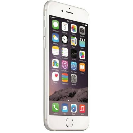 4ae33116cd6085 Refurbished Apple iPhone 6 16GB, Silver - Unlocked - Walmart.com