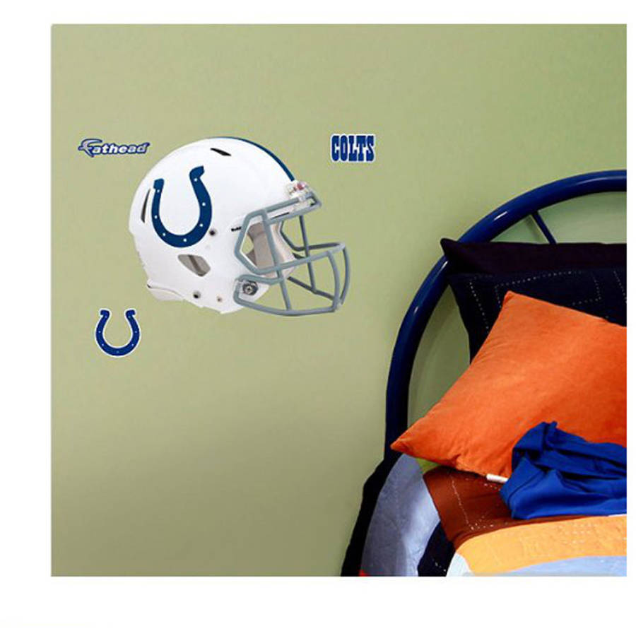 NFL Indianapolis Colts Fathead Helmet Wall Graphic