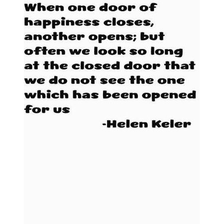 Group 7 Alcohols Todays Starter Quote When One Door Closes