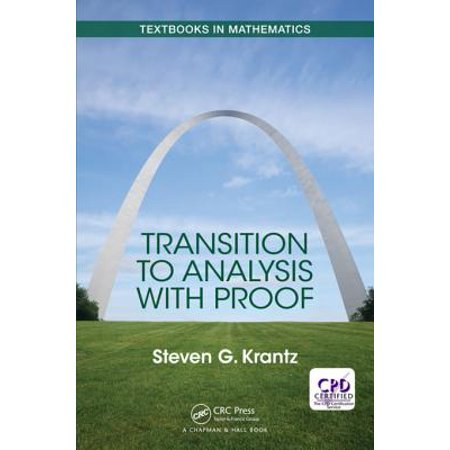 Transition to Analysis with Proof - eBook