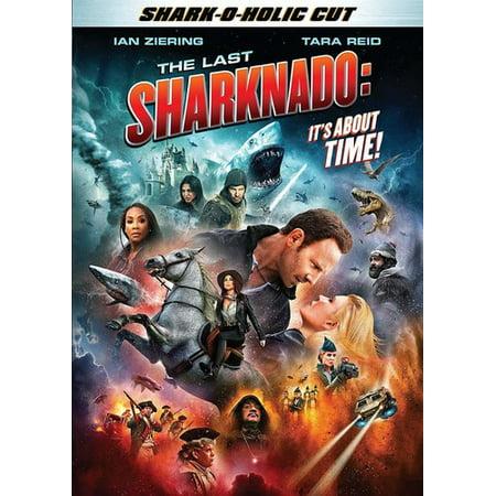 The Last Sharknado: It's About Time (DVD) - Movies Like Sharknado