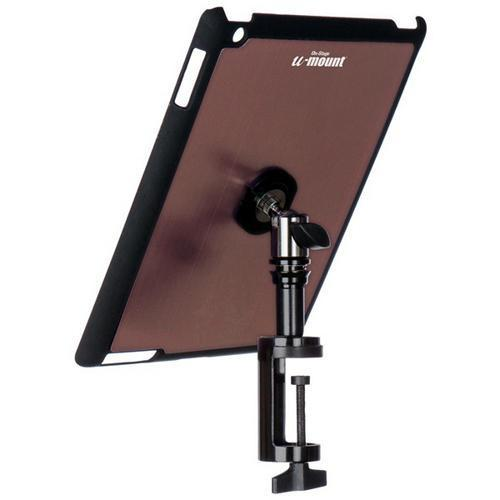 On-Stage TCM9163M iPad Snap-On Cover with Table Clamp, Mauve