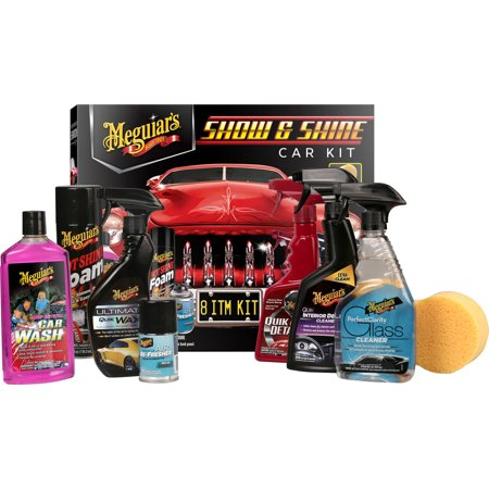 Meguiars Car Care Gift Kit Show And Shine Walmartcom - Show car cleaning products
