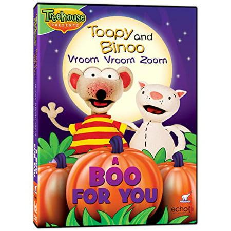 Toopy & Binoo - VVZ - A Boo for You! (DVD) - Toopy Binoo Halloween