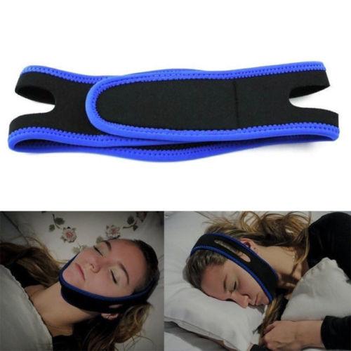EZGO Fully Adjustable Anti Snoring Chin Strap Snore Belt Schnarchband