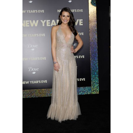 Lea Michele At Arrivals For New YearS Eve Premiere GraumanS Chinese Theatre Los Angeles Ca December 5 2011 Photo By Michael GermanaEverett Collection - New Years Eve Clock