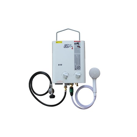 EZ CampChamp Portable Water Heater System - Camping Water