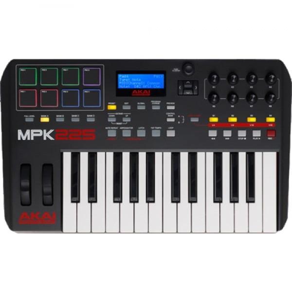 Akai MPK225 Compact Keyboard Controller by